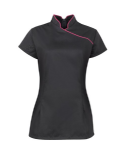 Womens Stand Collar Beauty Tunic